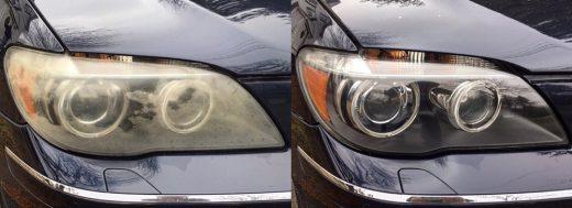 چطور چراغهای مات شدهی خودروی خود را تمیز کنیم